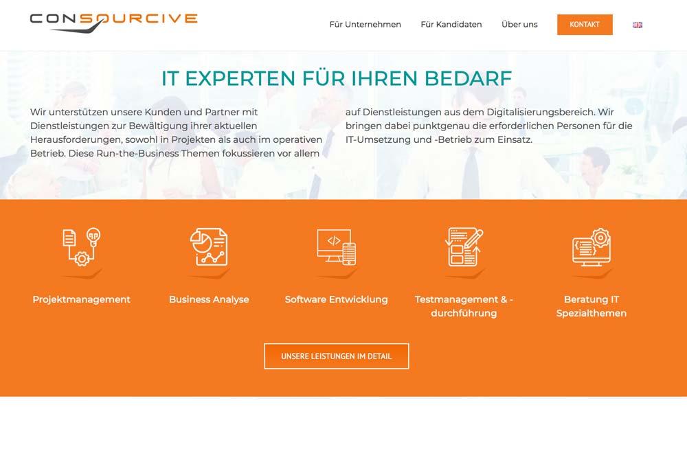 Online Marketing und Webdesign-Klagenfurt Portfolio Markegy Consourcive Seitenabschnitt