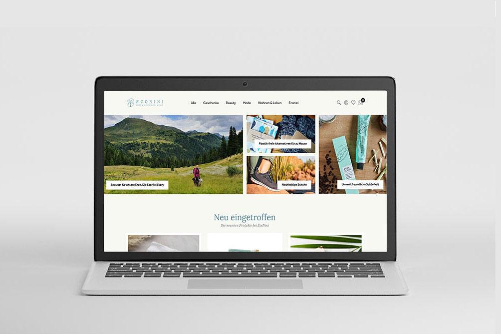Markegy Webdesign Portfolio EcoNini